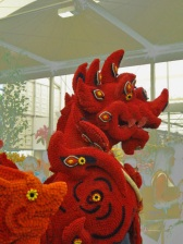 Flower Dragon at Chelsea